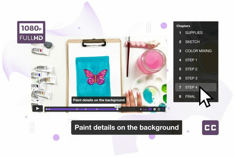 video lessons structure get started with gouache