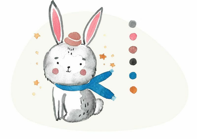 bunny project from the book