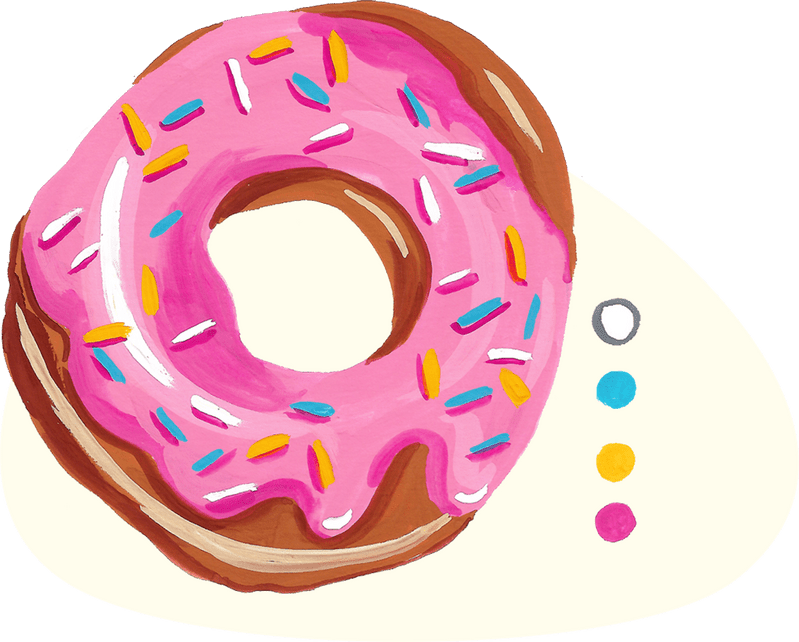 doughnut project from the book