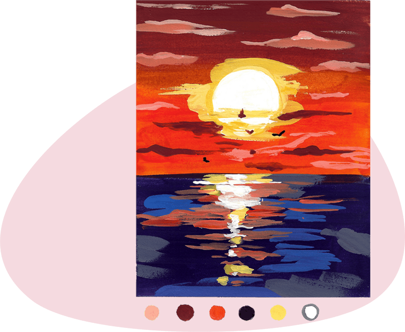 sunset project from the book