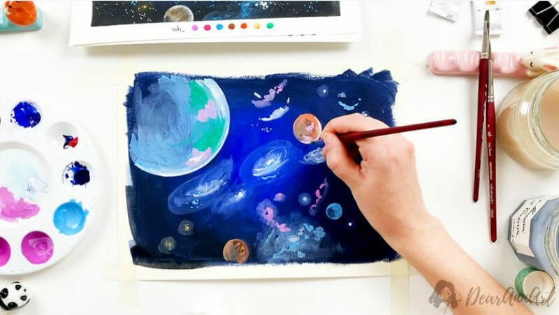 practical module get started with gouache