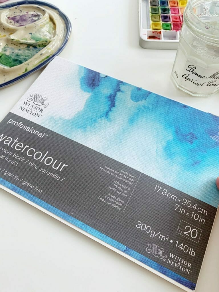 winsor and newton watercolor paper